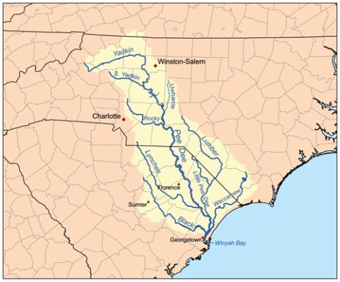 Yadkin-Pee Dee River Basin